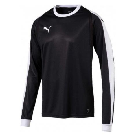 Puma LIGA GK JERSEY JR black - Boys' T-shirt