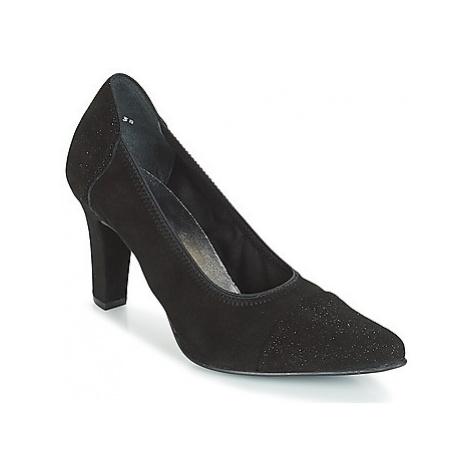 Myma PIZZANS women's Court Shoes in Black
