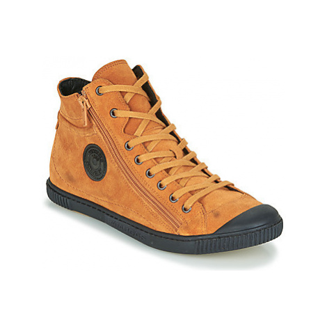 Pataugas BONO women's Shoes (High-top Trainers) in Orange