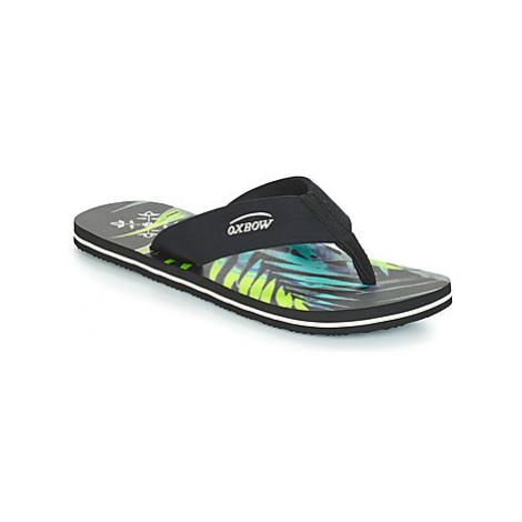 Oxbow VOLOK men's Flip flops / Sandals (Shoes) in Black
