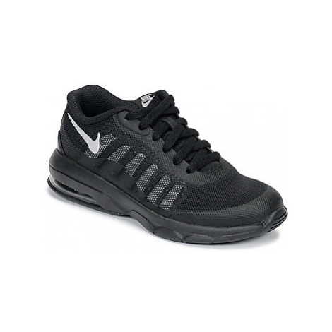 Nike AIR MAX INVIGOR PS girls's Children's Shoes (Trainers) in Black