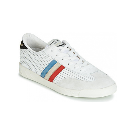 Serafini FLAT men's Shoes (Trainers) in White
