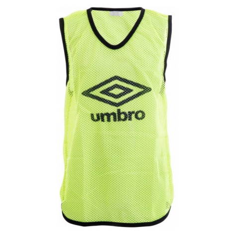 Umbro MESH TRAINING BIB - 65 X 52CM - Junior yellow - Kids' training jersey