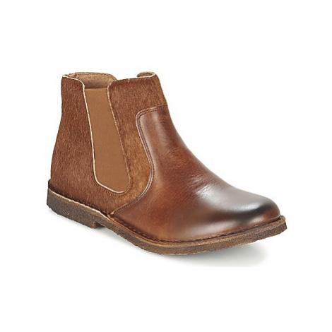 Kickers CREBOOTS women's Mid Boots in Brown