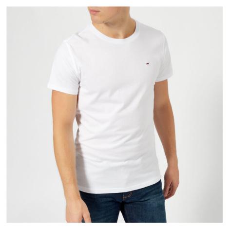 Tommy Jeans Men's Original Jersey T-Shirt - Classic White Tommy Hilfiger