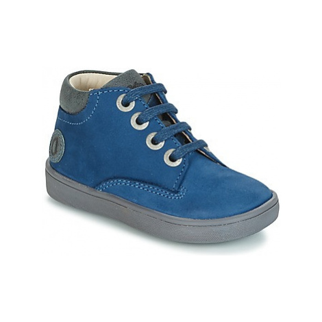 Aster SILAND boys's Children's Mid Boots in Blue