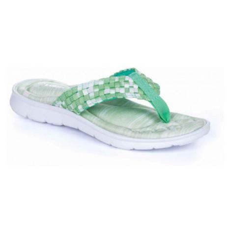 Loap SILENTA green - Women's flip flops