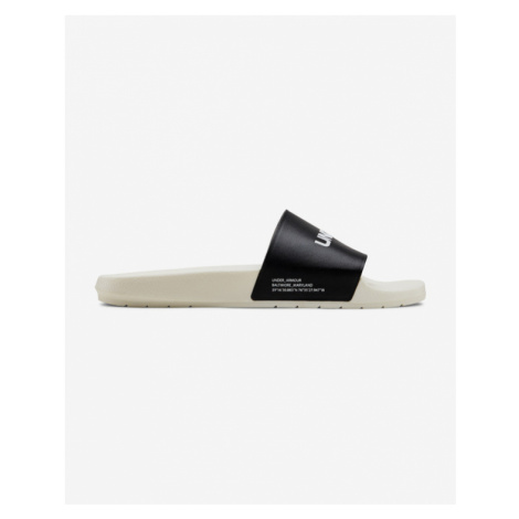 Under Armour Core Remix Slippers Black White