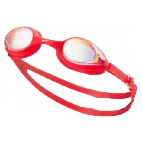 Nike HIGHTIDE MIRROR red - Swimming goggles