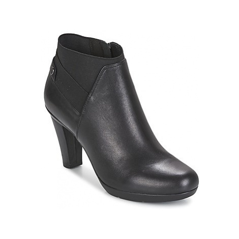 Geox INSPIRAT.ST. B women's Low Boots in Black