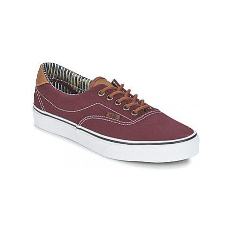Vans ERA 59 men's Shoes (Trainers) in Red