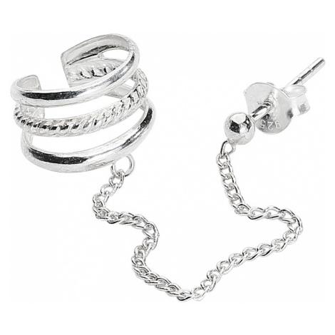 Silver Cuff - - Earpin - Standard