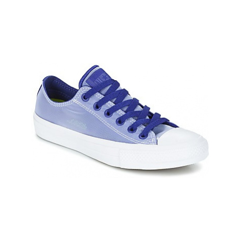 Converse CHUCK TAYLOR ALL STAR II - OX women's Shoes (Trainers) in Blue