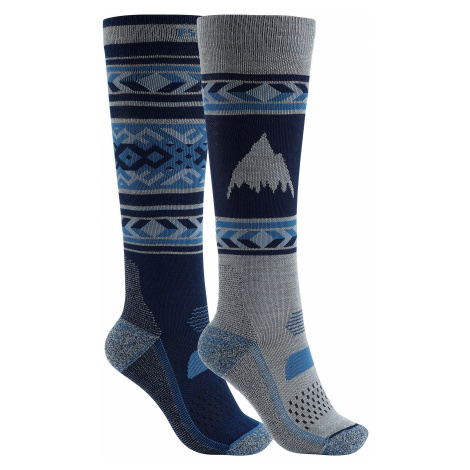 socks Burton Performance Lightweight 2 Pack - Mood Indigo - women´s