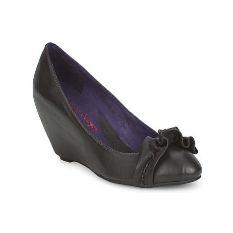 Couleur Pourpre BRIGITTE women's Court Shoes in Grey