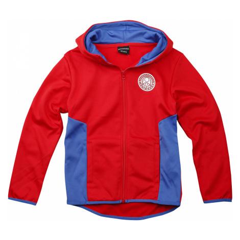 Super Mario - Mario Kart - Kids hooded zip - red-blue