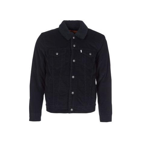 Levis TYPE 3 SHERPA TRUCKER men's Denim jacket in Black Levi´s