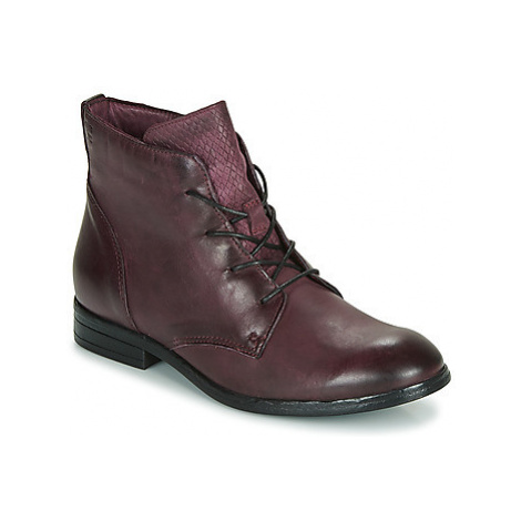 Dream in Green LAMPEDI women's Mid Boots in Bordeaux