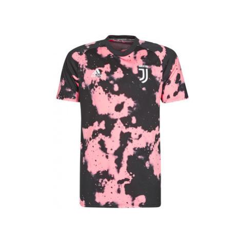 Adidas JUVE H PRESHI men's T shirt in Black