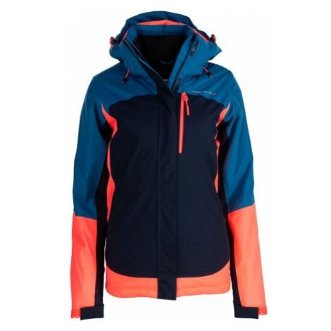 ALPINE PRO OMARA dark blue - Women's ski jacket