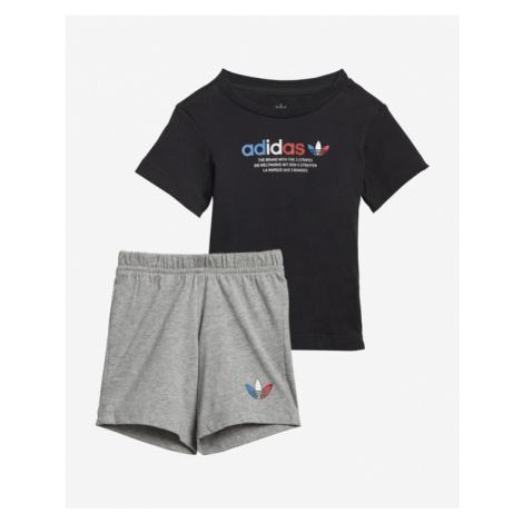 adidas Originals Adicolor Kids Set Black Grey