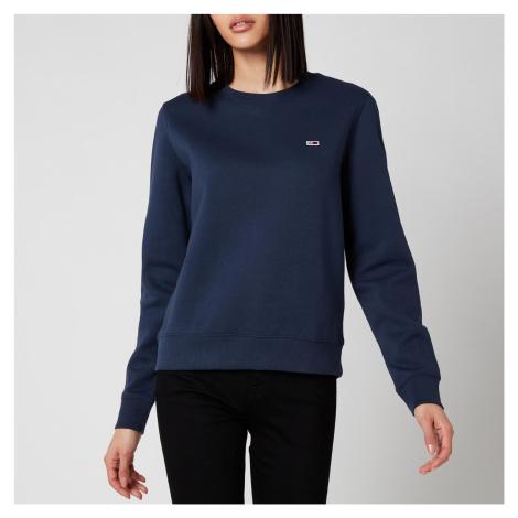 Tommy Jeans Women's Regular Fleece Sweatshirt - Twilight Navy Tommy Hilfiger