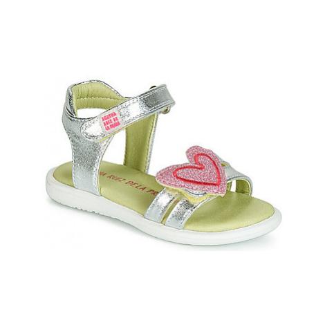 Agatha Ruiz de la Prada BEAUTY girls's Children's Sandals in Silver