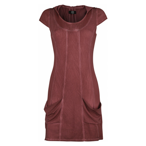 RED by EMP - Why Still Bother - Dress - burgundy