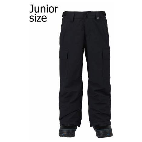 pants Burton Exile Cargo - True Black - boy´s