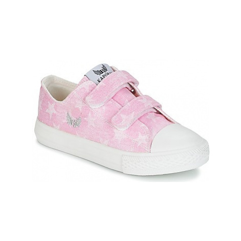 Kaporal ROSY girls's Children's Shoes (Trainers) in Pink