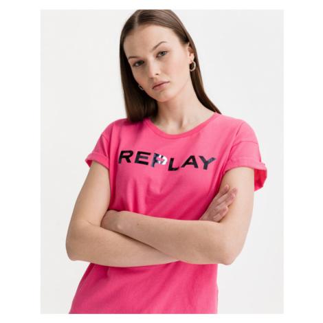 Replay T-shirt Pink
