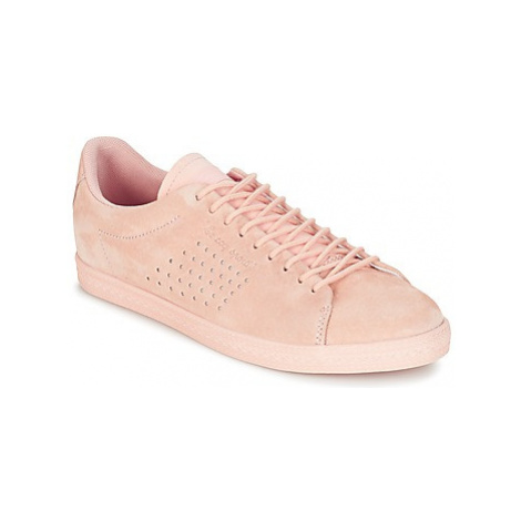 Le Coq Sportif CHARLINE NUBUCK women's Shoes (Trainers) in Pink