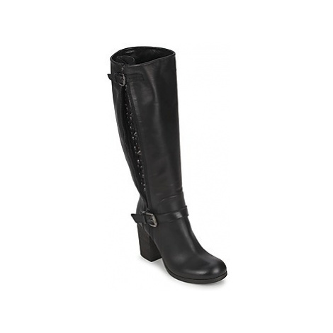 JFK SEMATA women's High Boots in Black