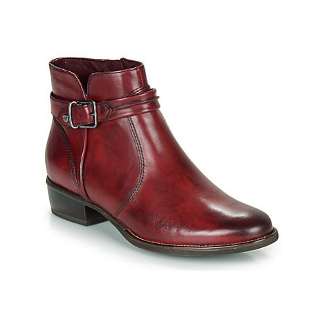 Tamaris MARLY women's Mid Boots in Red