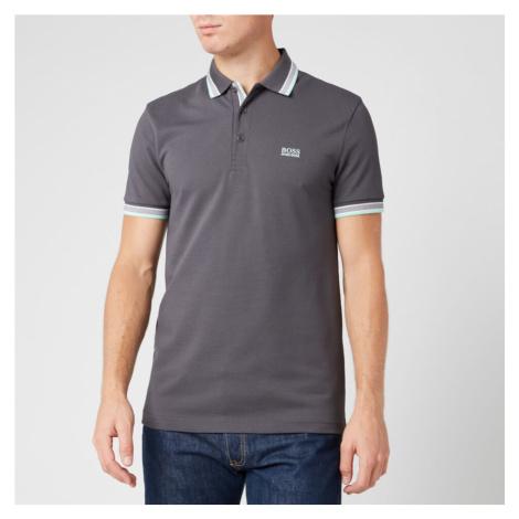BOSS Men's Paddy Polo Shirt - Dark Grey Hugo Boss