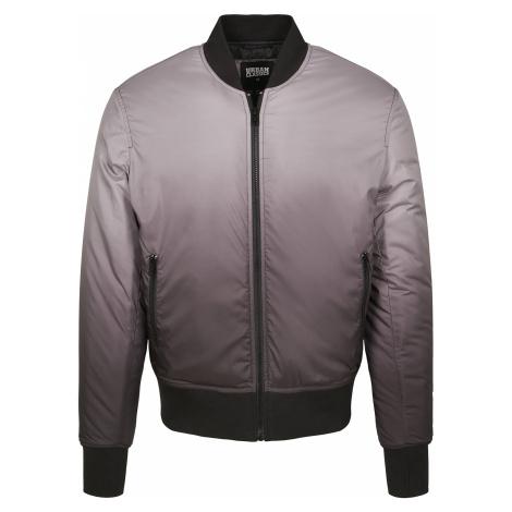 Urban Classics - Gradient Bomber Jacket - Jacket - black-grey