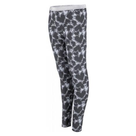 Lewro YARIA dark gray - Girl's leggings