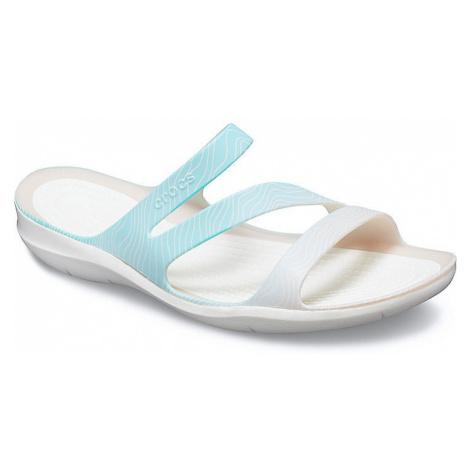 shoes Crocs Swiftwater Seasonal Sandal - Pool Ombre/White - women´s