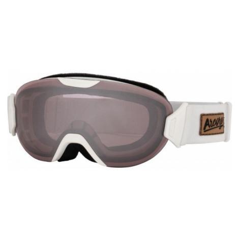 Arcore BROOKE white - Women's ski goggles