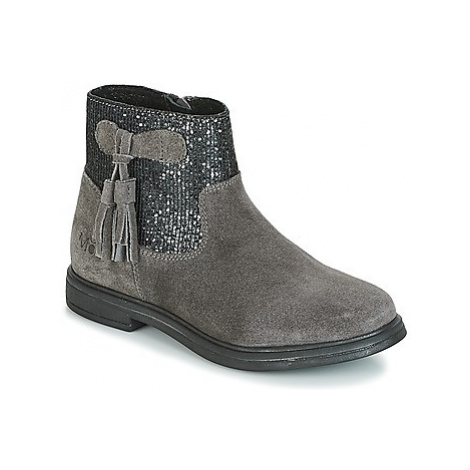 Mod'8 LEXANE girls's Children's Mid Boots in Grey
