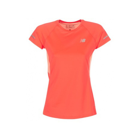 New Balance NB ICE SS women's T shirt in Red