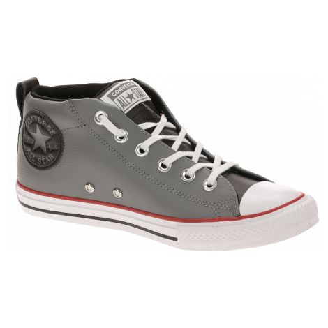 shoes Converse Chuck Taylor All Star Street Mid - 661888/Mason/Black/White - unisex junior