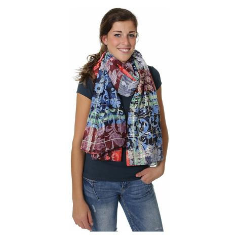scarf Desigual 17WAWFE7/Transflores - 3147/Peach Whip