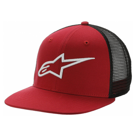 cap Alpinestars Corp Trucker - Red/Black - men´s
