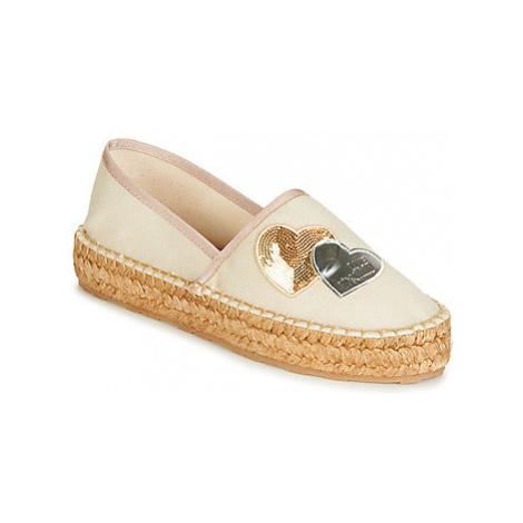Love Moschino JA10243G07 women's Espadrilles / Casual Shoes in Beige