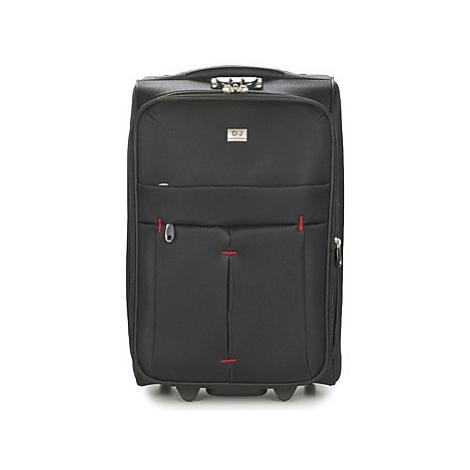 David Jones JAVESKA 49L men's Soft Suitcase in Black