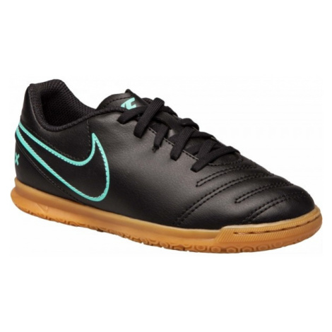 Nike JR TIEMPOX RIO III IC black - Kids' indoor shoes
