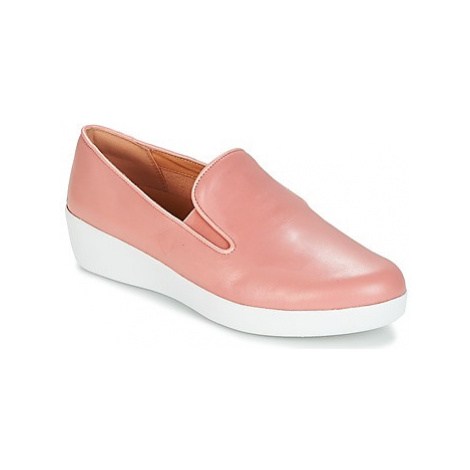 FitFlop SUPERSKATE women's Slip-ons (Shoes) in Pink
