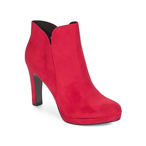 Tamaris LYCORIS women's Low Ankle Boots in Bordeaux