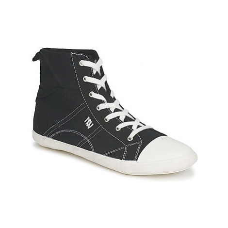 Dorotennis MONTANTE LACET INSERT women's Shoes (High-top Trainers) in Black